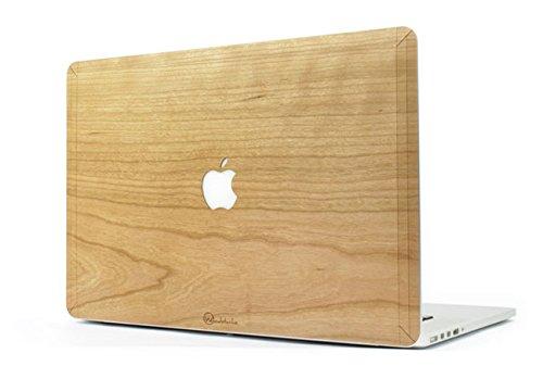 Coque rigide en bois pour MacBook - Idée cadeau pour homme - Cadeau anniversaire homme cadeau ou cadeau Noël homme
