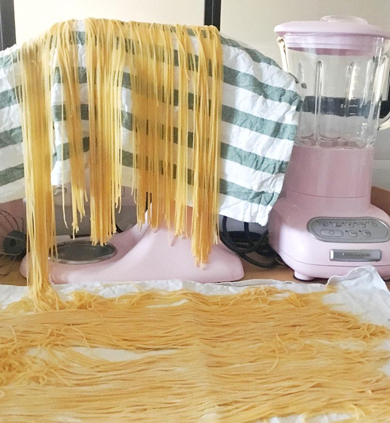 Recette pâtes fraîches maison