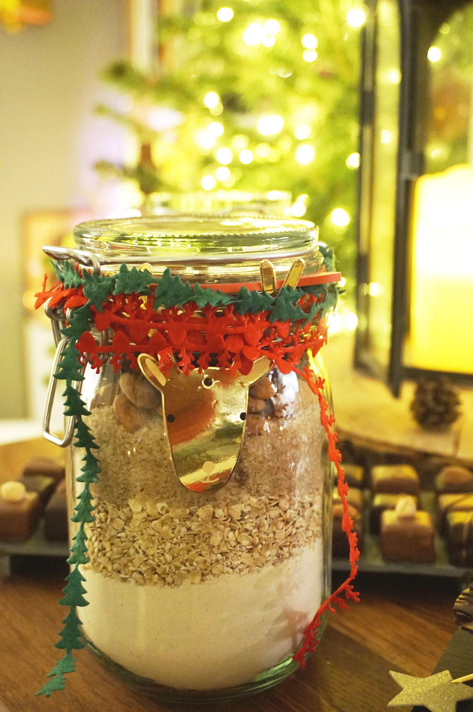 DIY Cookies Jar - Repas de Noël Toupargel