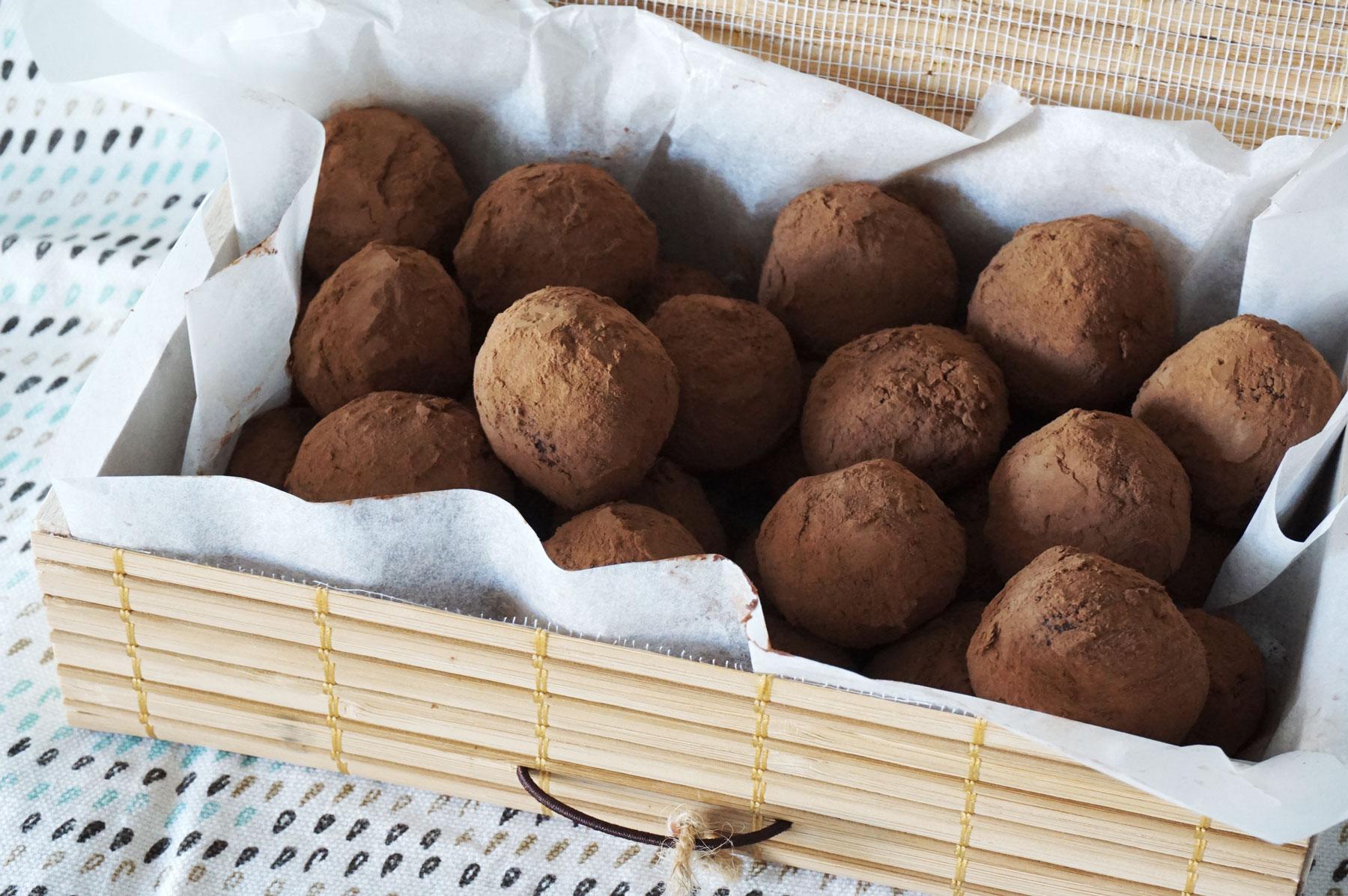 Recette truffes au chocolat