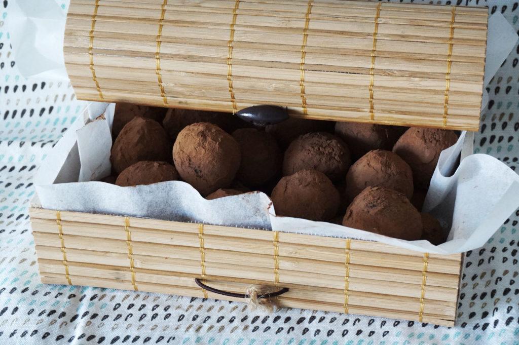 Recette Truffes au chocolat - Blog cuisine