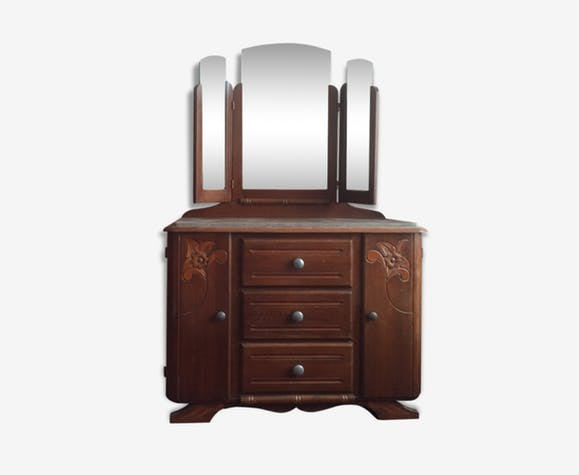 Coiffeuse commode original