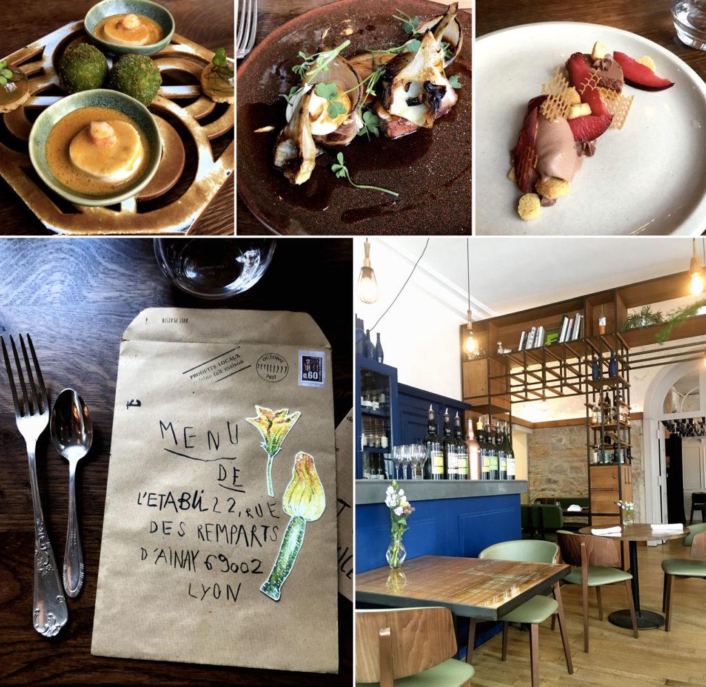 L'Etabli, restaurant à Lyon - Mon coup de coeur 2018
