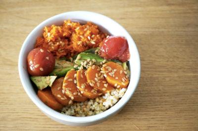Recette : Buddha bowl végétarien