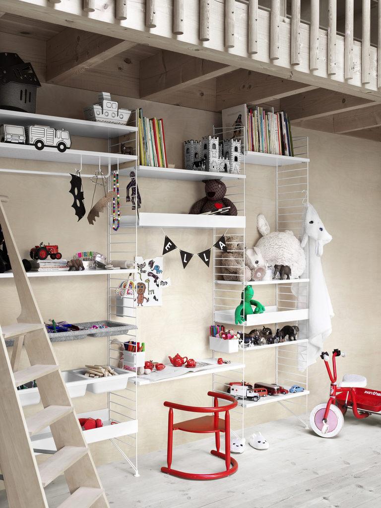 Etagère String chambre enfant - Idées et inspirations déco