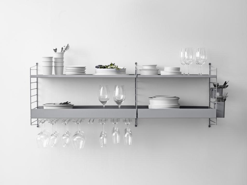 Etagère String : le rangement modulable stylé et pratique pour la cuisine