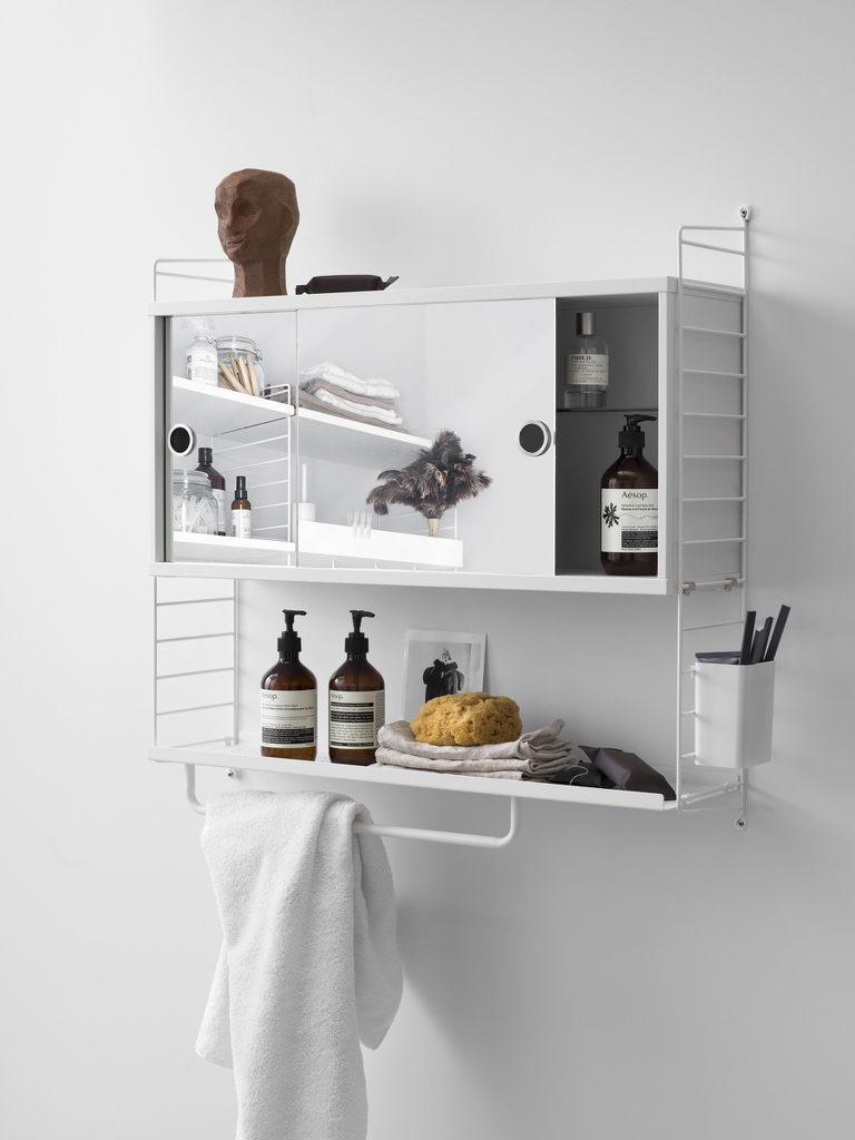 Etagère String : idées et inspirations pour la salle de bains