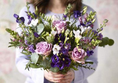 Bouquet de fleurs idée cadeau femme