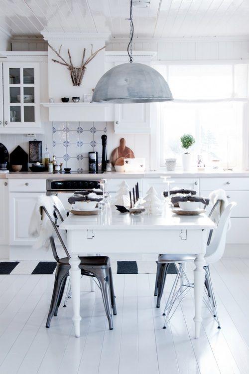 Inspiration déco Cuisine blanche