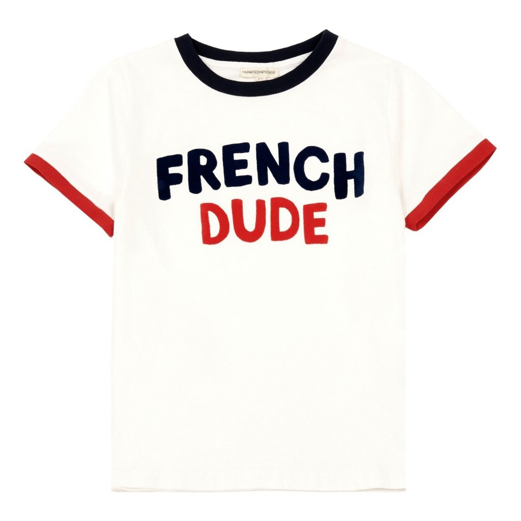 Exclusivite smallable x isetan t shirt french dude