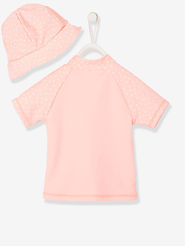 tee shirt de bain bébé anti uv