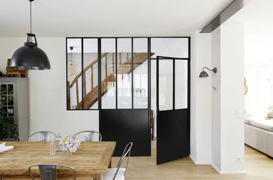 Verrière et porte verrière Lapeyre - Aménagement intérieur