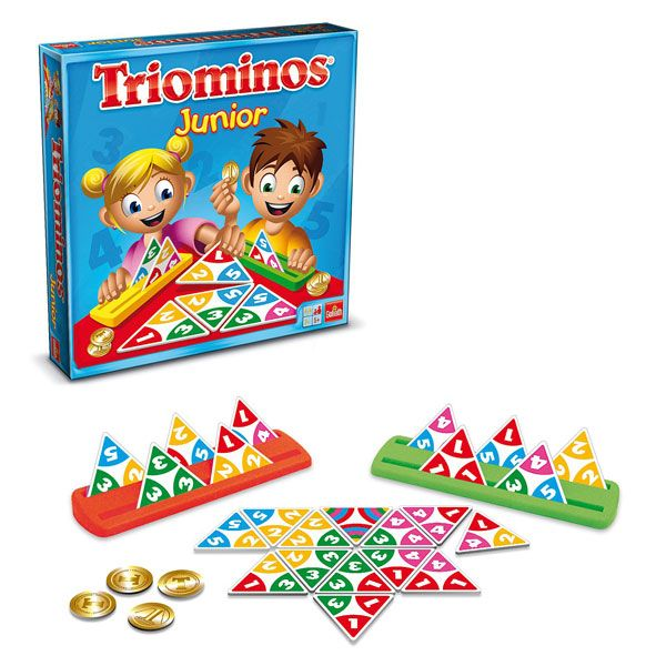 Jeu de societe triominos junior