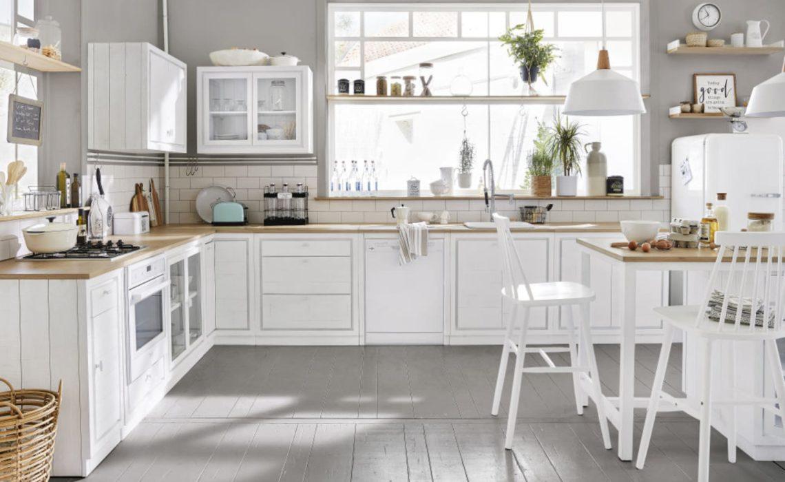 Cuisine blanche maisons du monde
