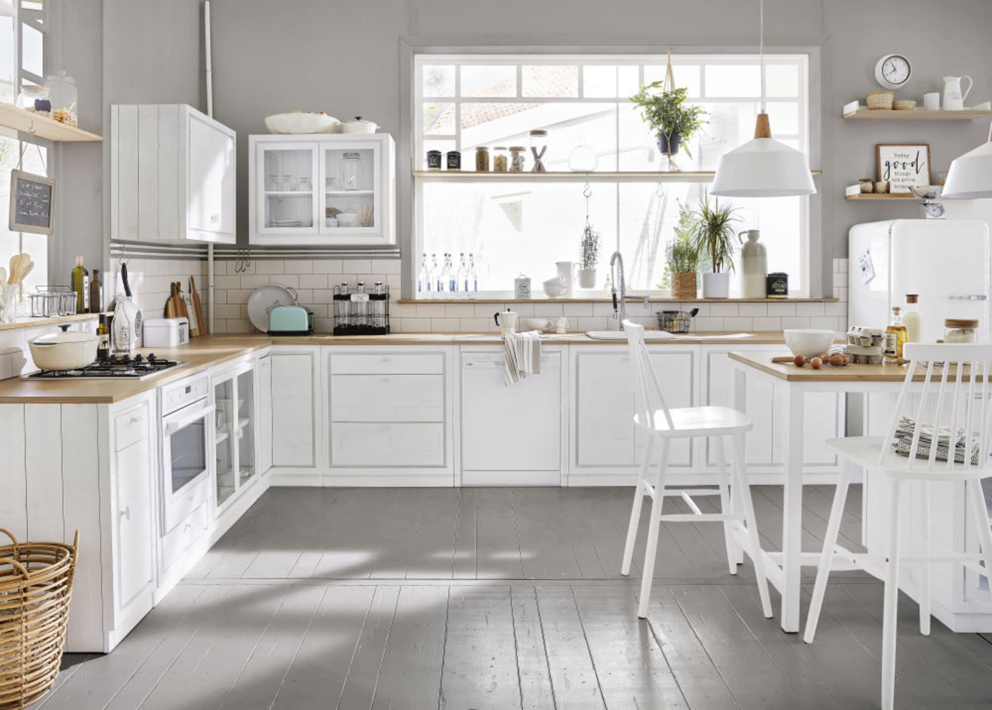 Inspiration déco : Une cuisine blanche ~ Blog déco