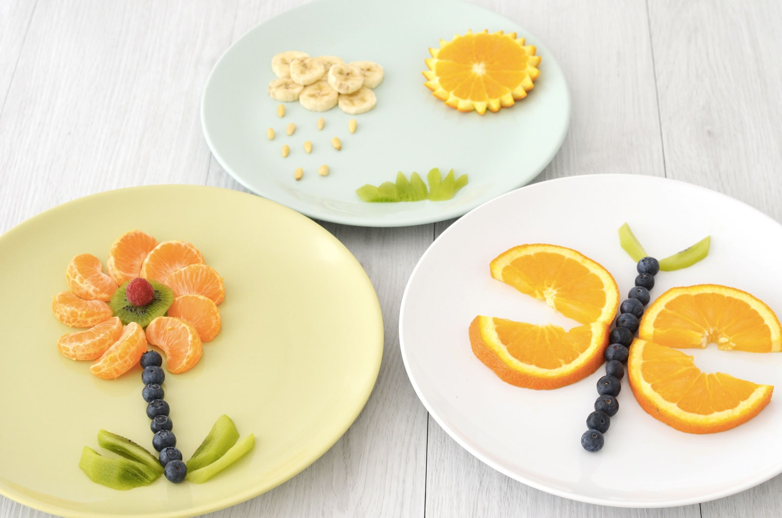 Assiette creative enfant idee repas fruit