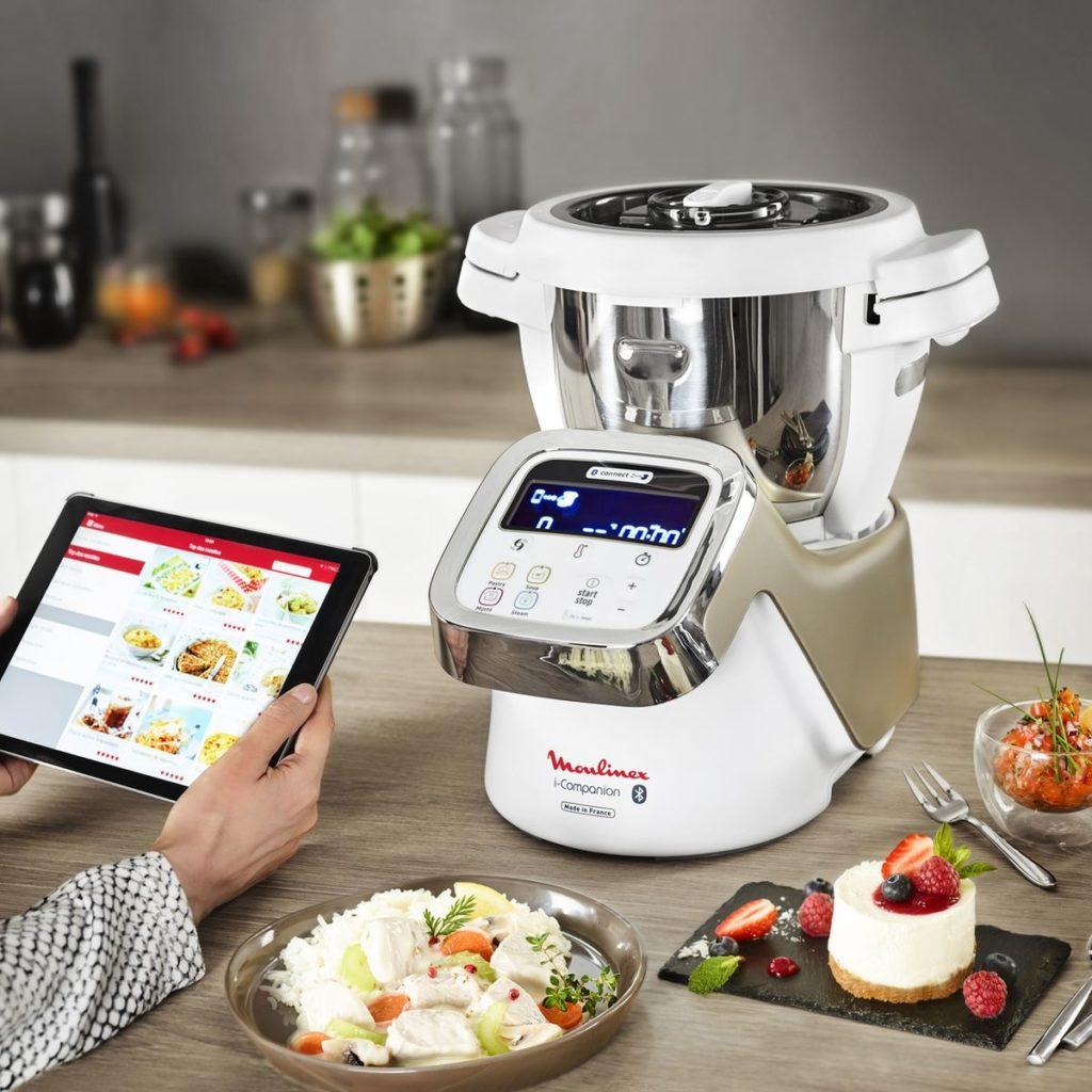 La cuisine facile avec un robot de cuisine Companion