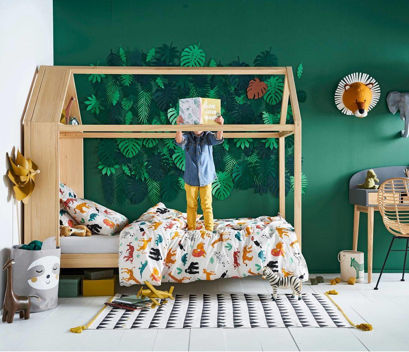 Partage Chambre Fille Garcon idée déco chambre enfant : une chambre jungle - blog maman
