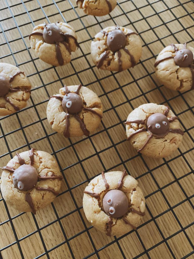Cookies araignee recette halloween