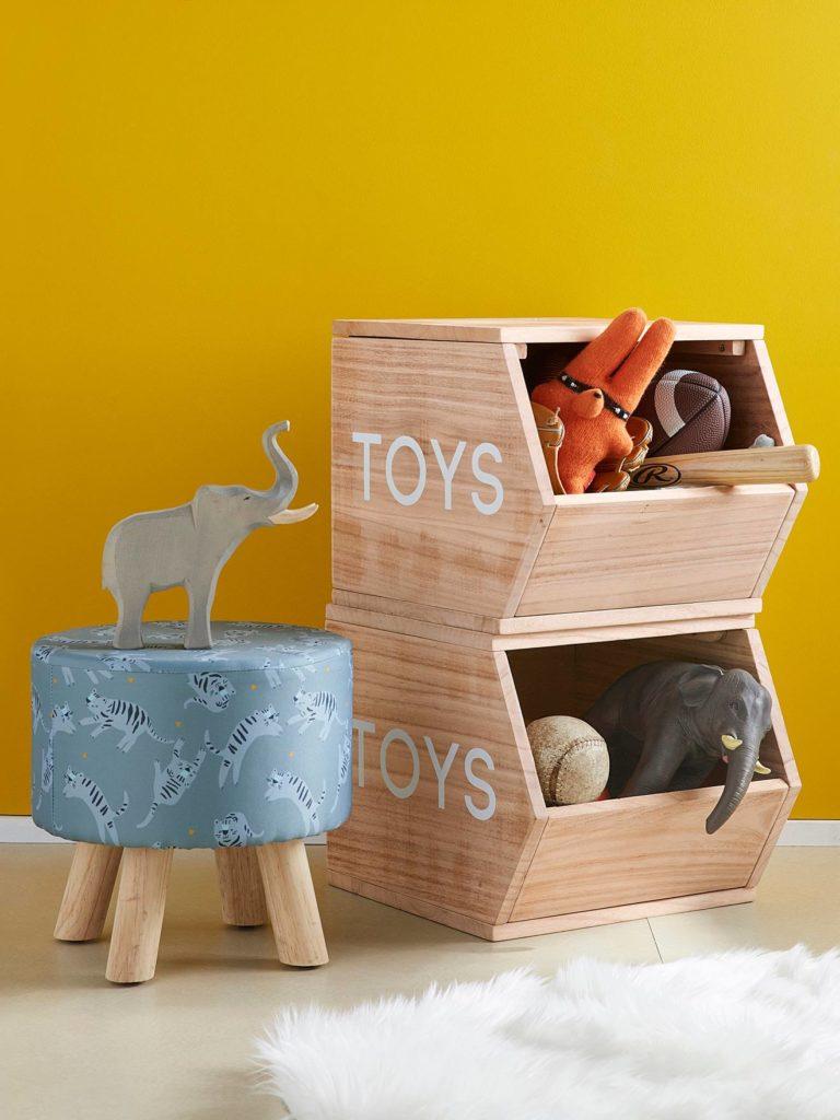Cube de rangement toys
