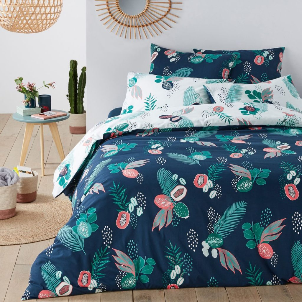 Housse couette jungle lr