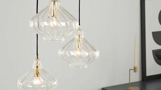 Luminaire design : suspension multiple ou lustre pour la maison