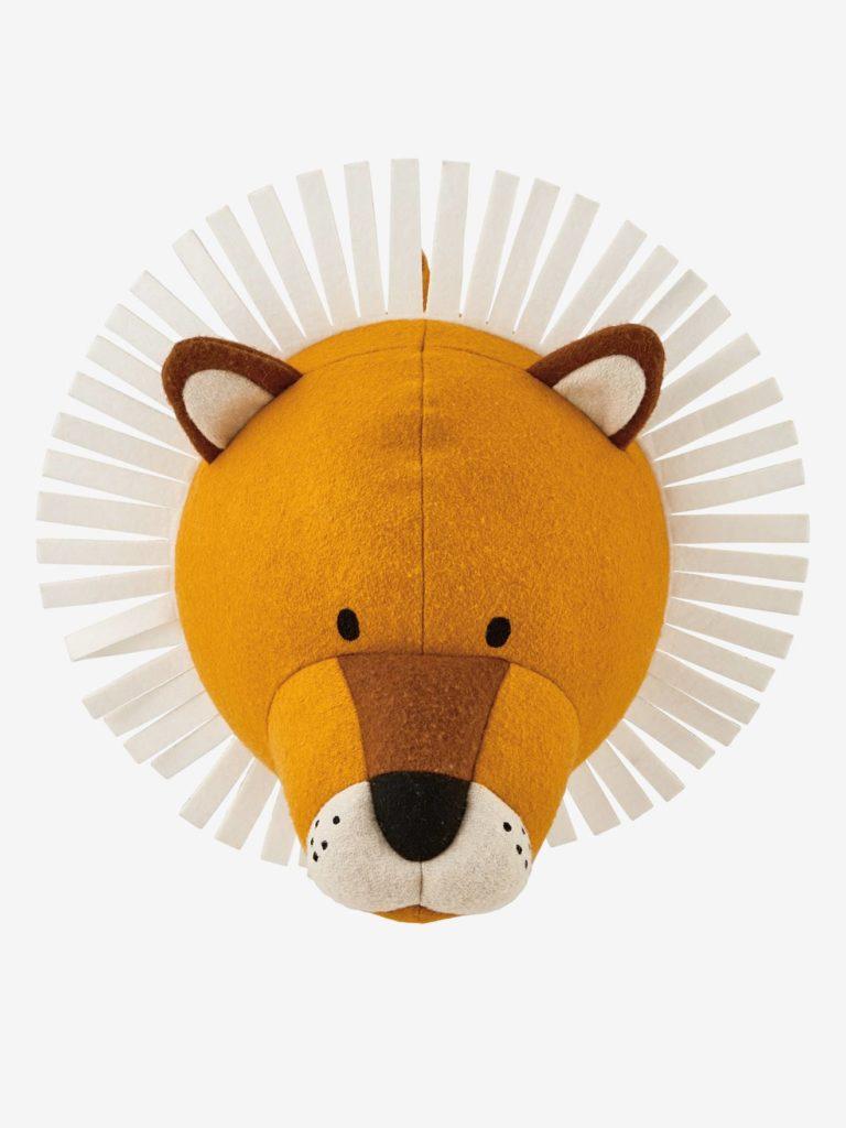 Idée déco chambre bébé enfant : Trophée mural animaux