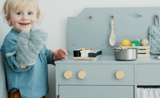 Cuisine enfant en bois