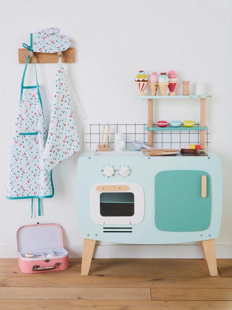 Cuisine en bois jouet - Cuisine enfant design