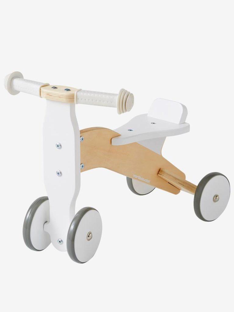 Chariot de marche et porteur en bois