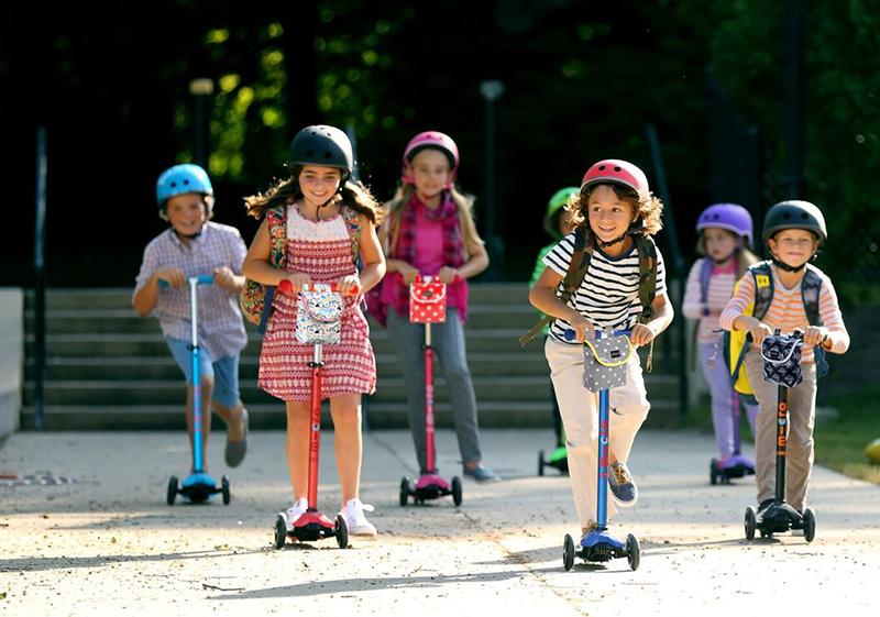 Idée cadeau enfant 6 à 9 ans - Trottinette pliable Micro