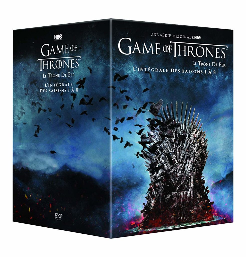 Coffret dvd integrale game of thrones
