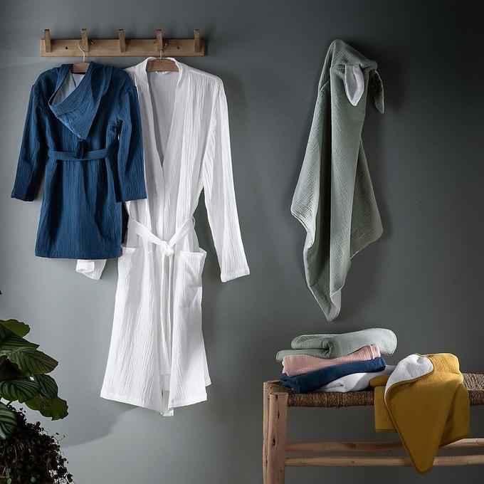 Peignoir kimono gaze coton