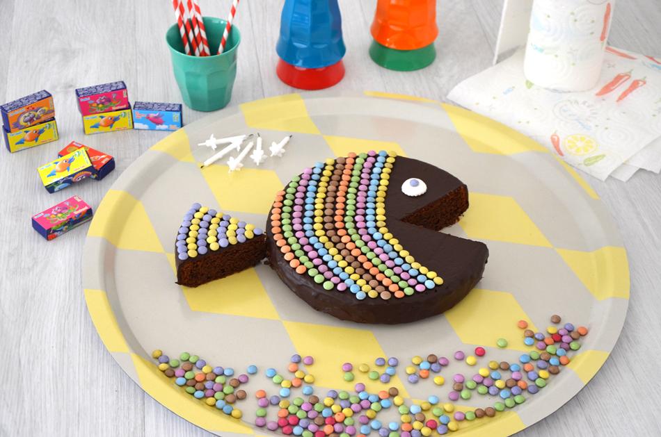 Gâteau poisson : un gâteau d'anniversaire original et facile à faire