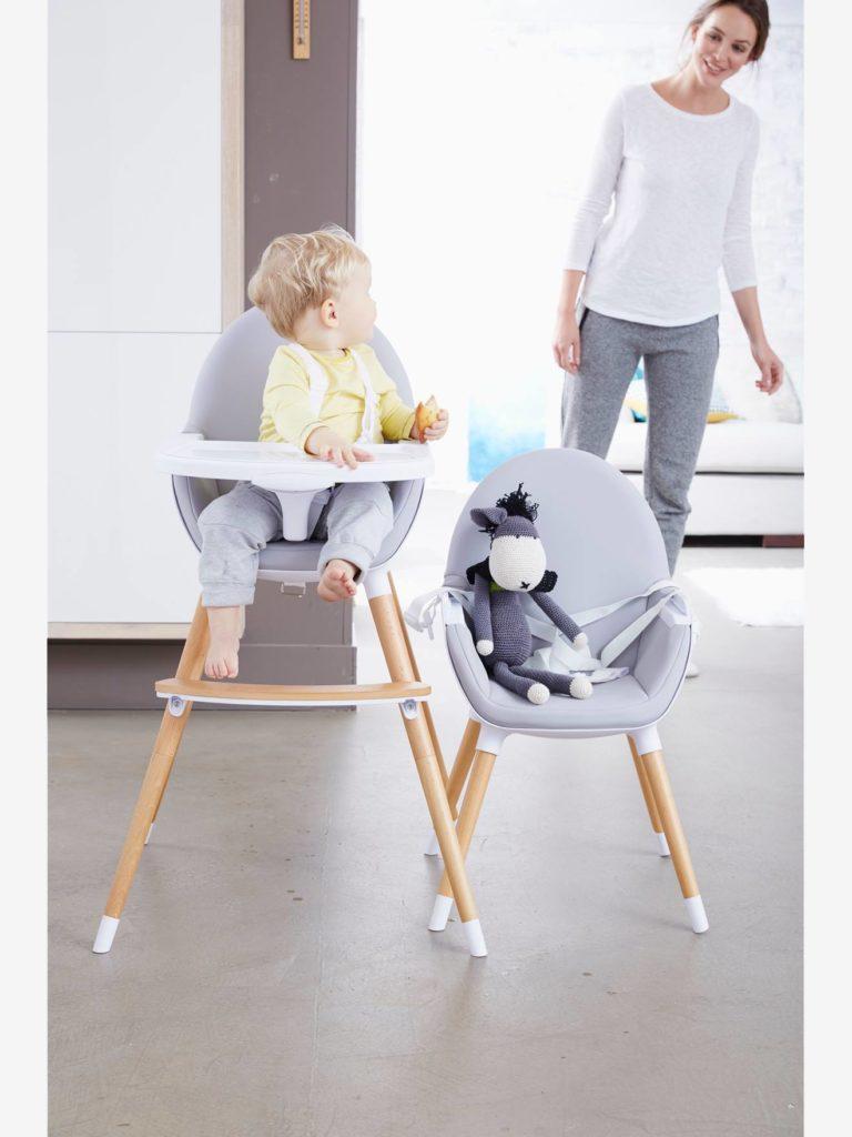 Chaise haute evolutive hauteurs topseat