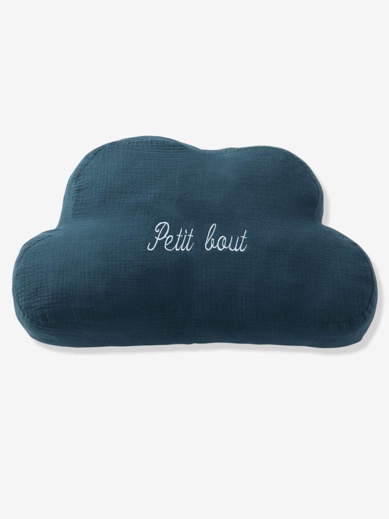 Coussin personnalisable gaze de coton nuage
