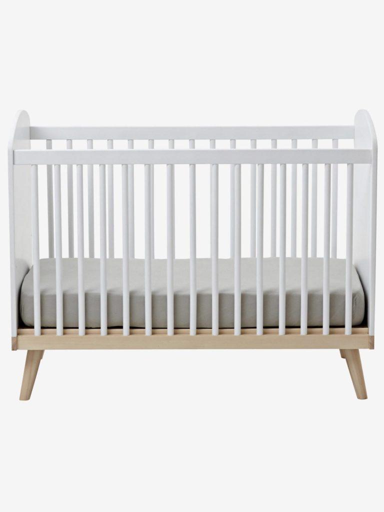 Lit bebe a barreaux ligne confetti