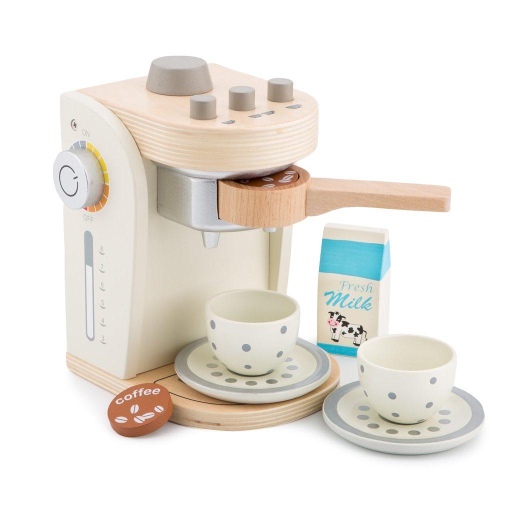 Machine cafe bois jouet