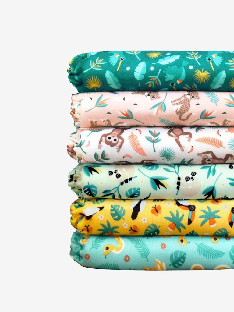Miosolo pack de couches lavables bambino mio