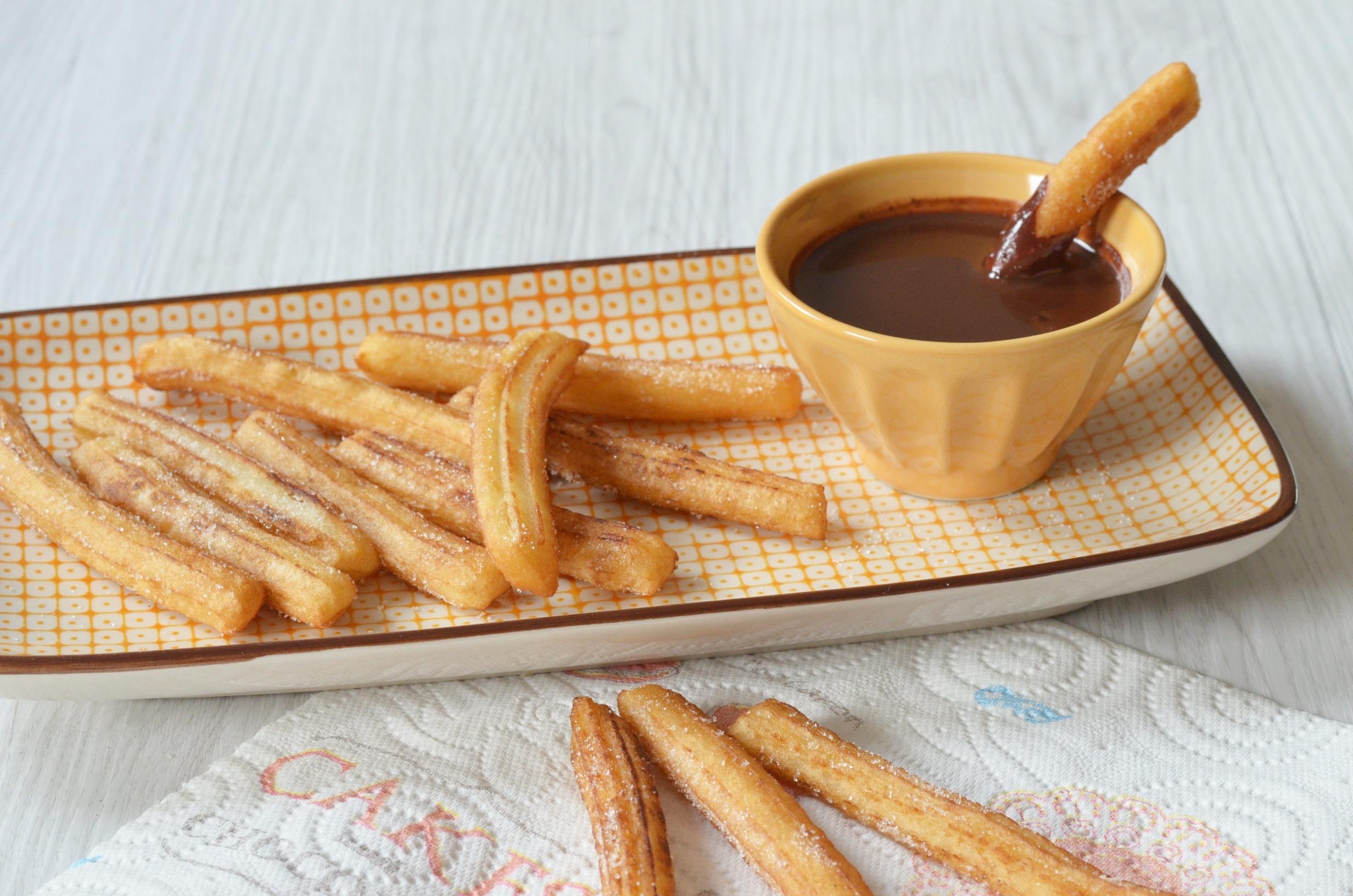 Recette Churros De Fete Foraine recette : churros maison - blog cuisine