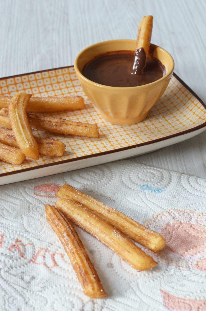 Recette churros maison - Mardi gras