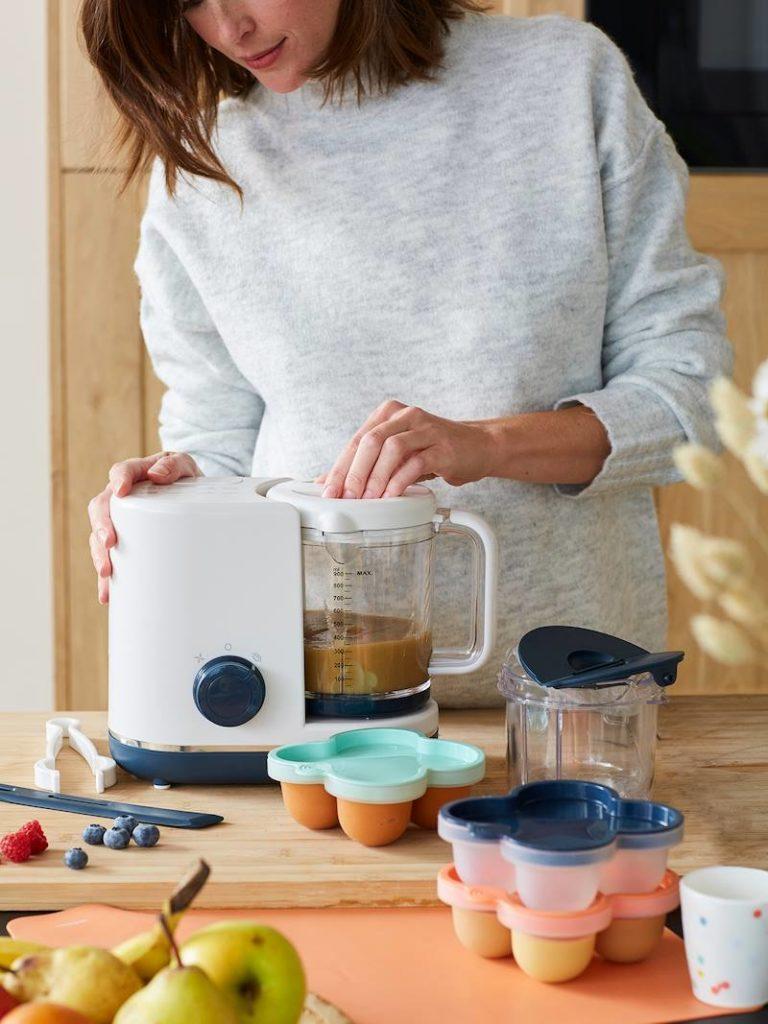 Robot cuiseur vapeurmixeur magic cooker en vertbaudet