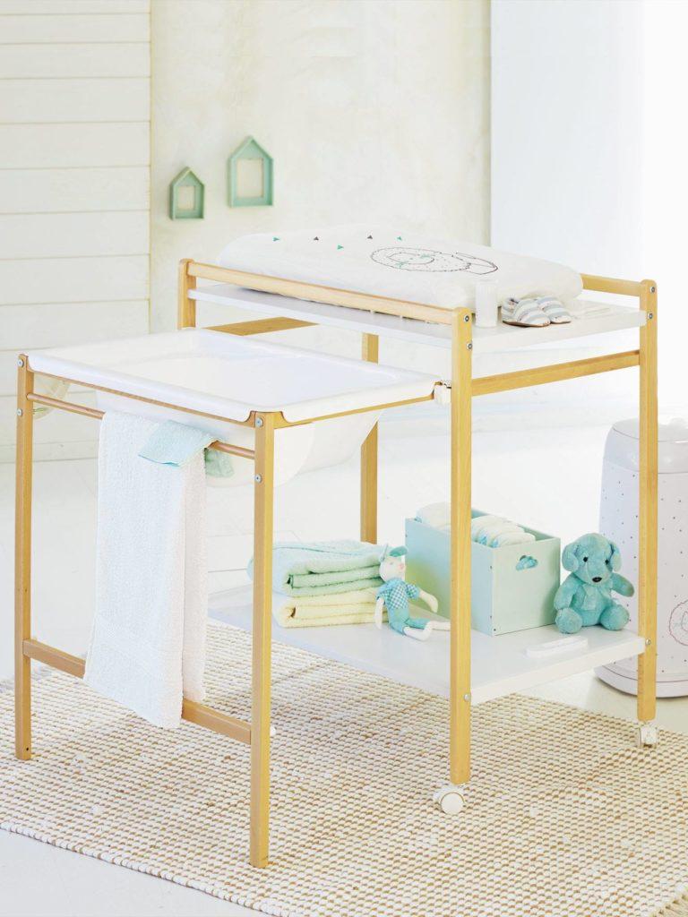 Table a langer avec baignoire integree vertbaudet magictub