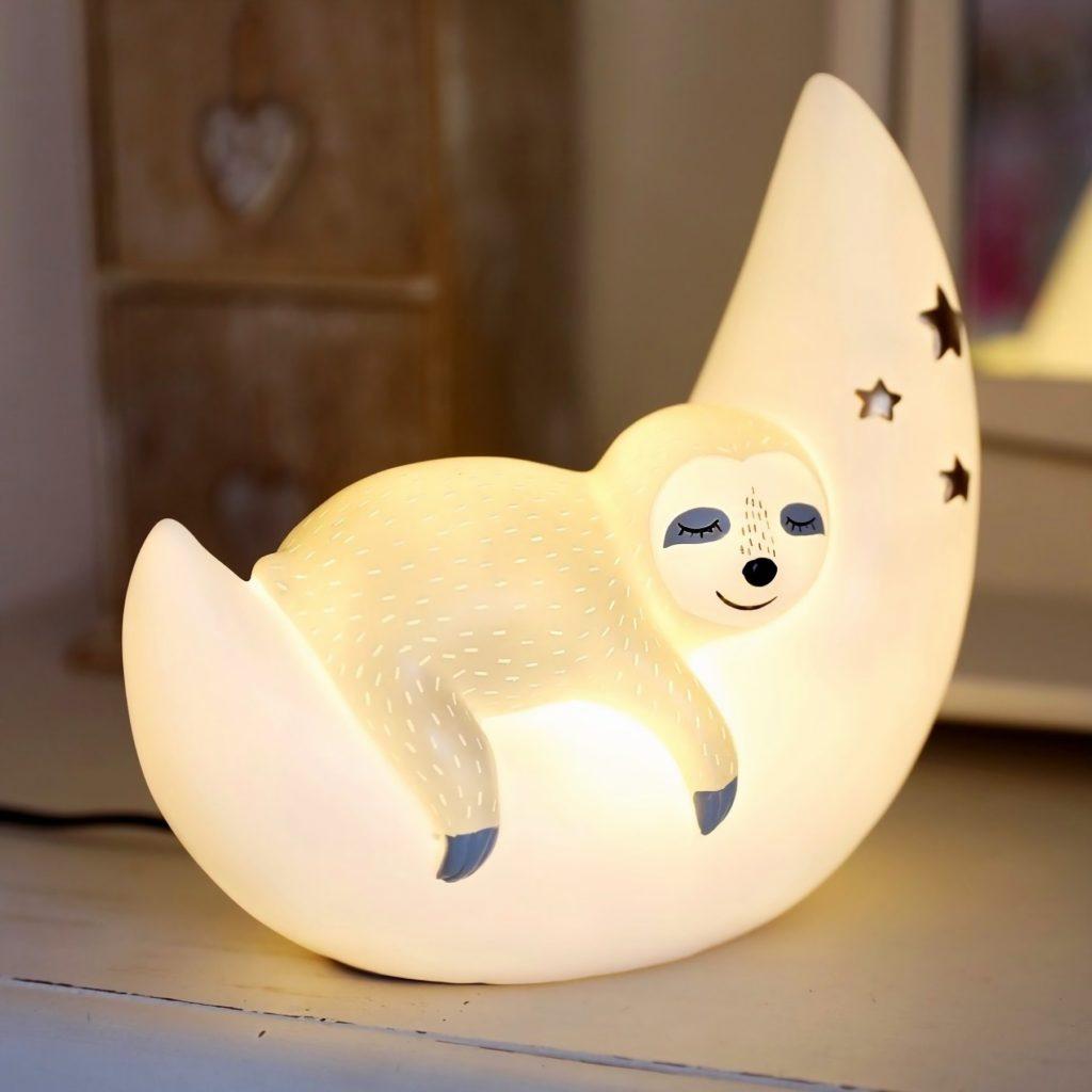 Veilleuse paresseux lampe led
