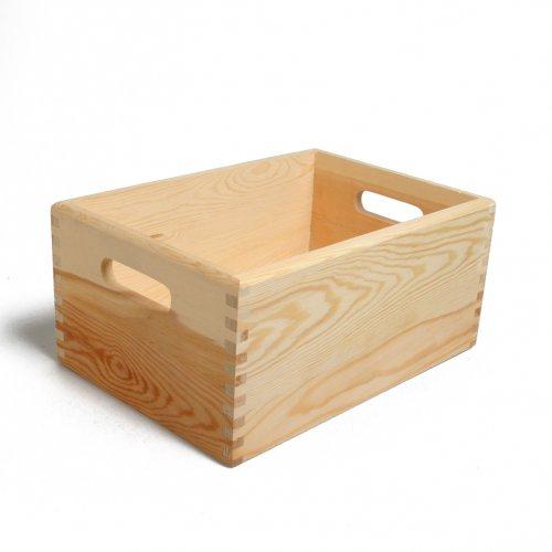 Caisse bois pin