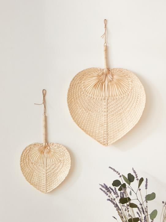 Eventail bambou par lot de