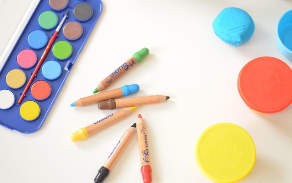 Le matériel de base pour les plus petits (1 an à 3 ans)