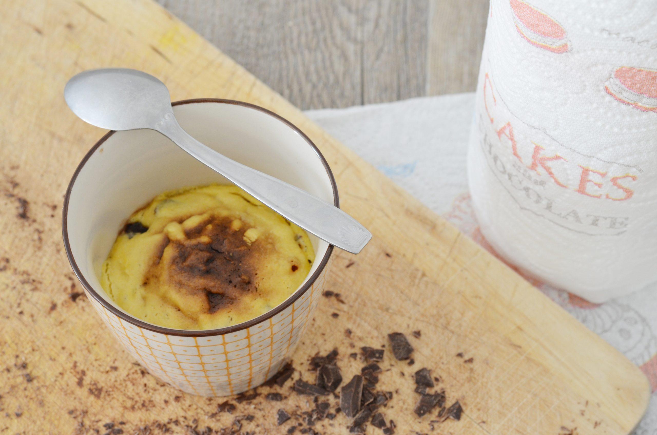 Recette mug cookie, le gâteau cuit au micro-ondes