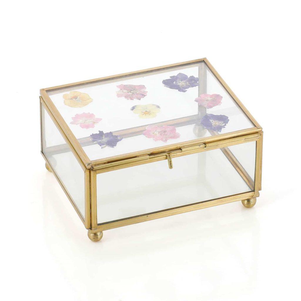 boite bijoux fleurs sechees