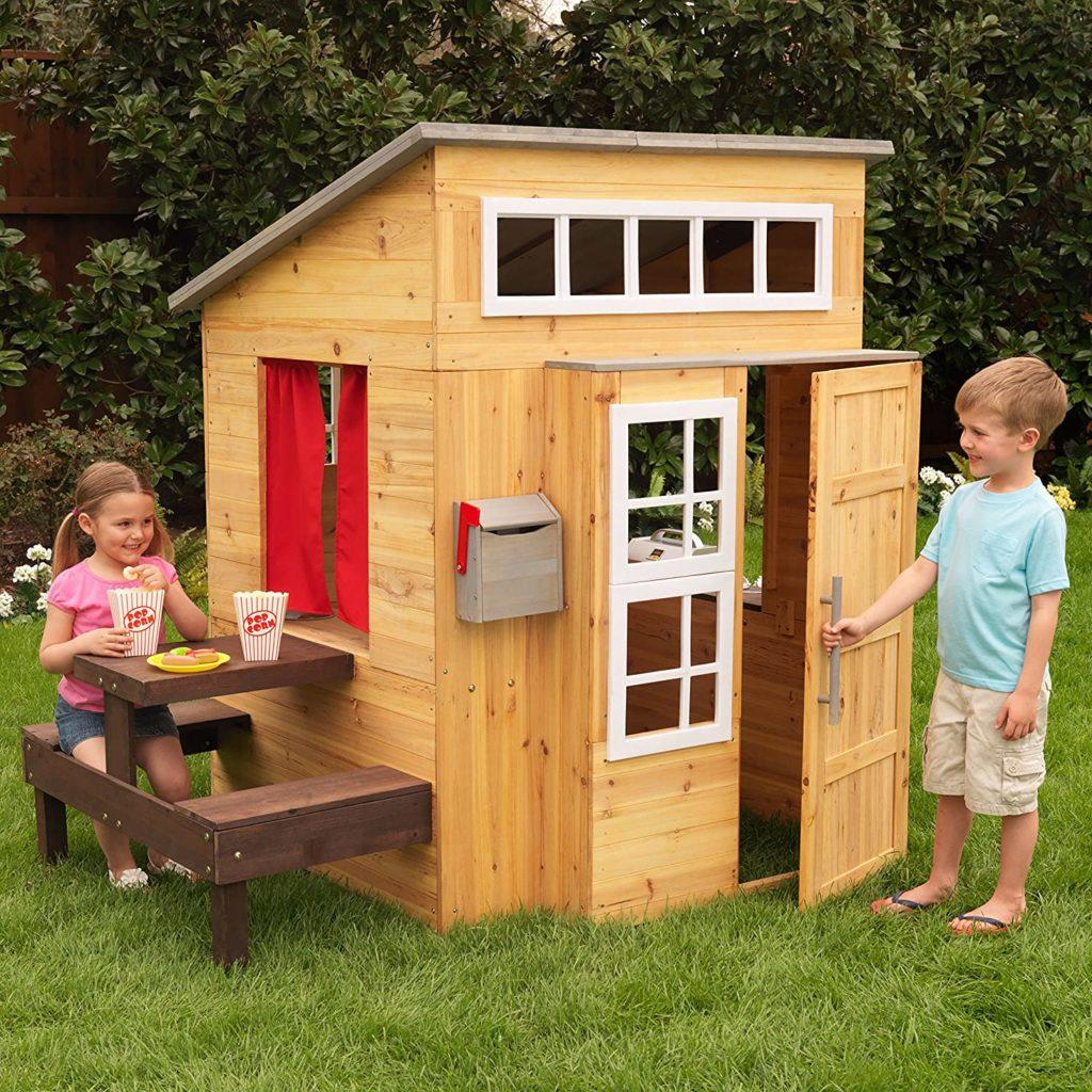 cabane jardin enfant bois kidkraft